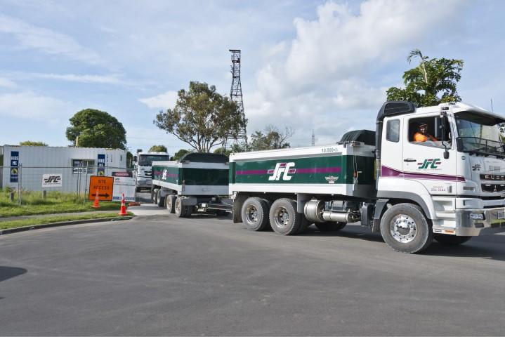 JFC cartage truck