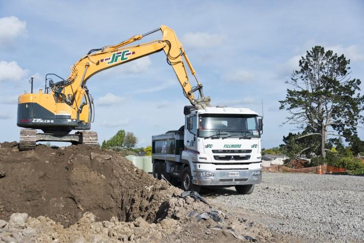 land development, digger, JFC
