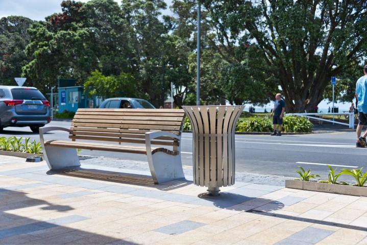 Auckland streetscape, JFC