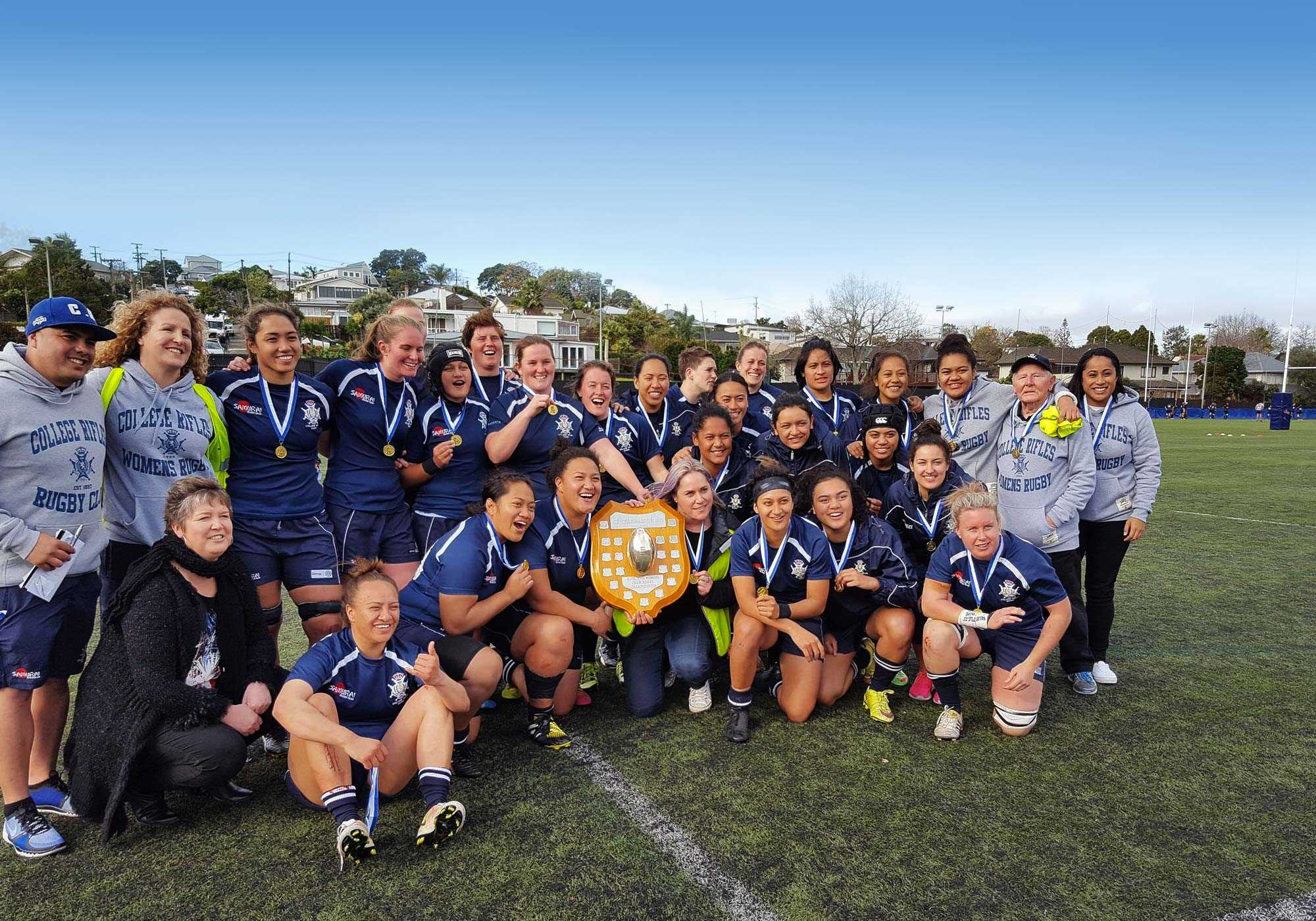 College Rifles Rugby Champions