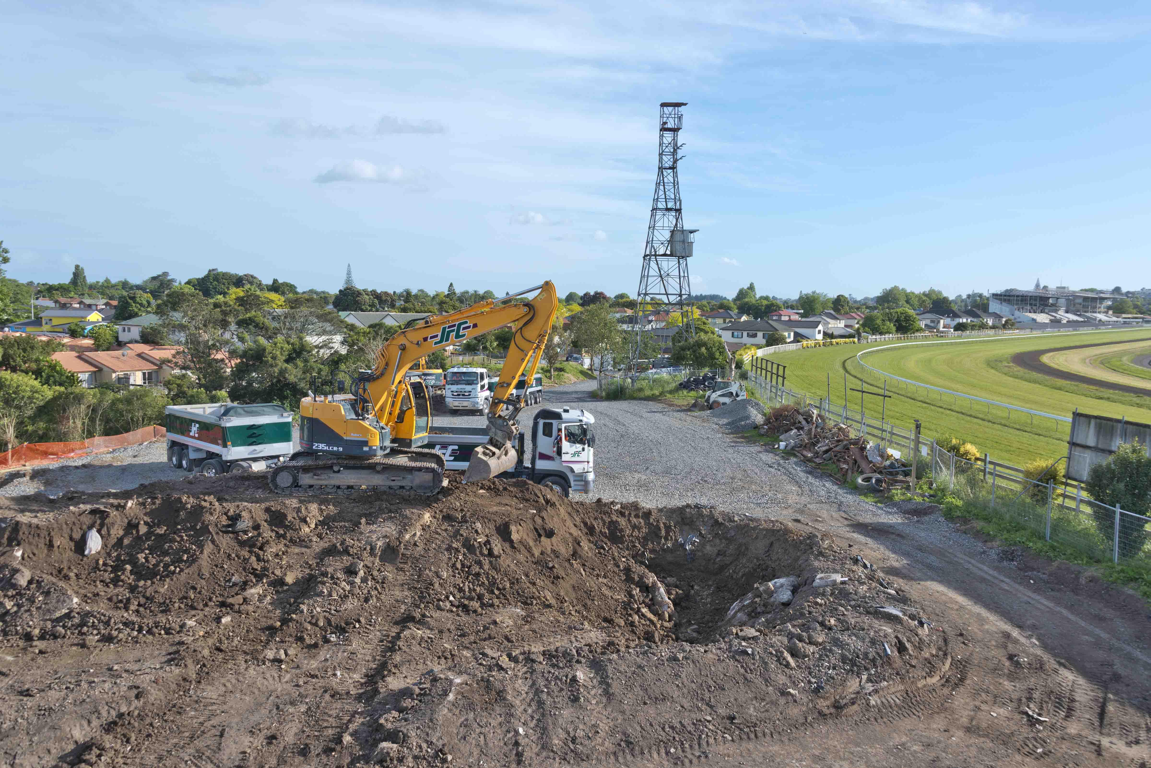 JFC Land develpment earthworks