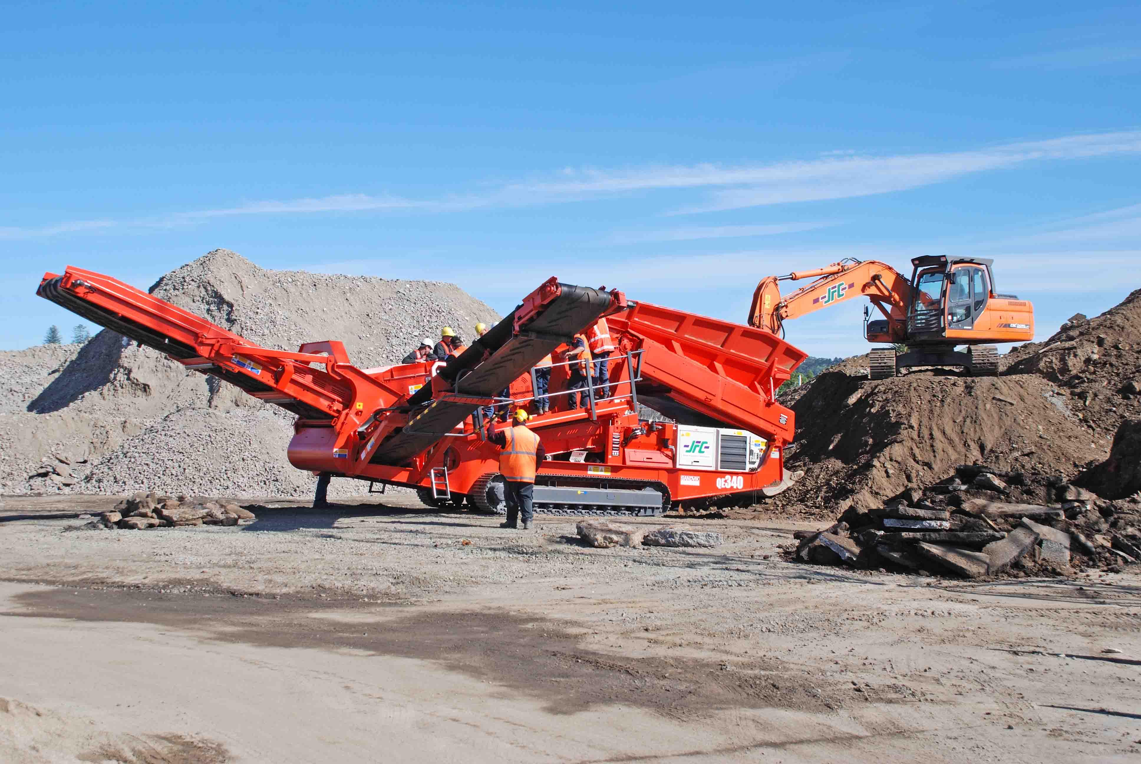 JFC land development equipment