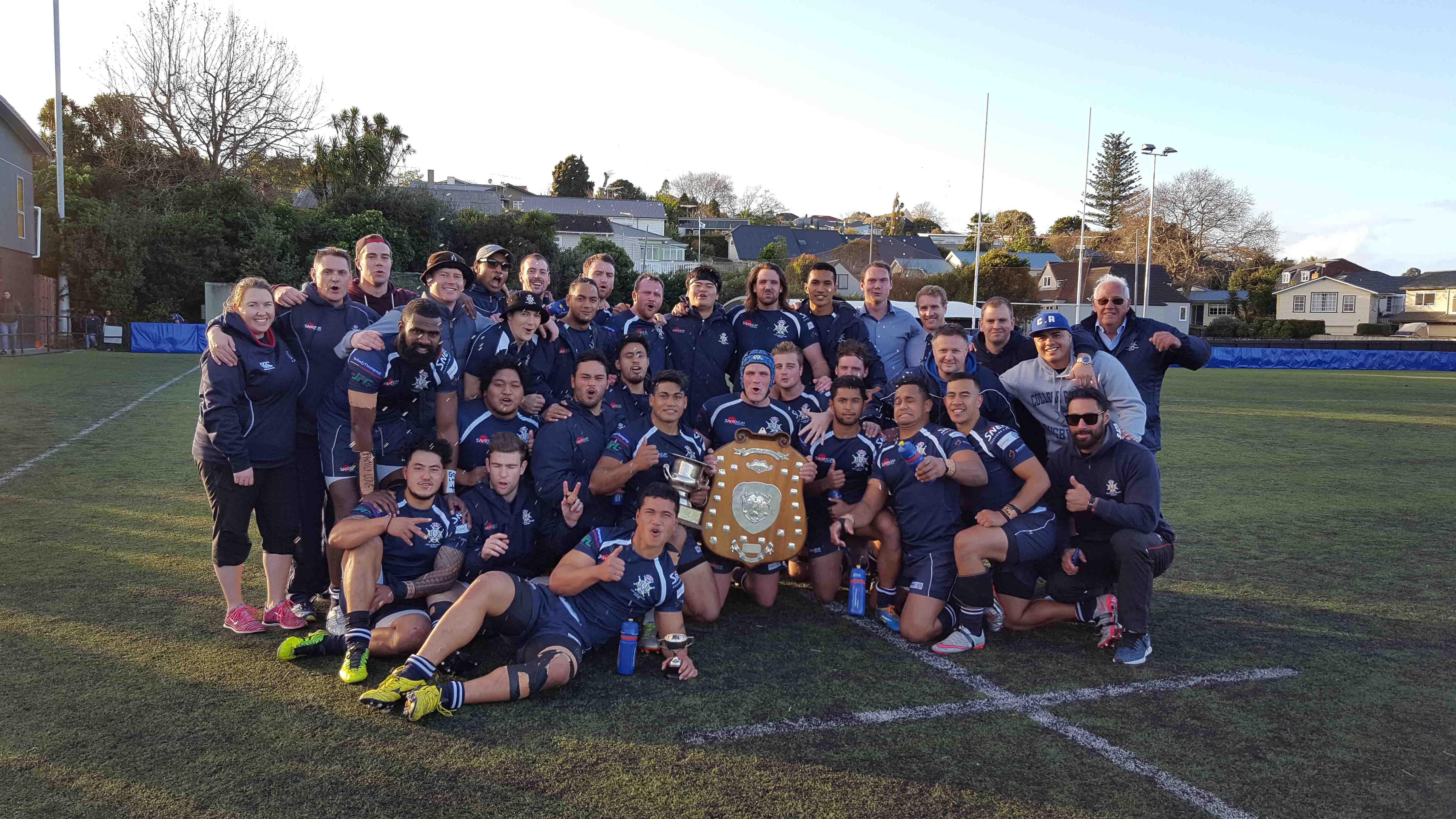 Rifles Premiers 2016 boys win